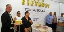Tonga Skills Celebrates 1st Birthday