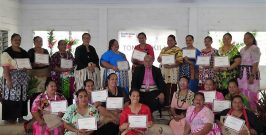 Tailors Form an Association in Vava'u
