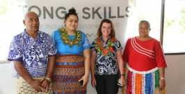 Assistant Minister sees result of skills development through Value Chain Integration on 'Eua