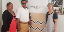 President of the Tonga National Vision Impairment Association Undertakes Certificate Course in Teaching