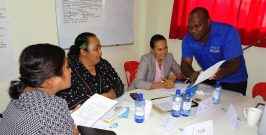 International Training and Assessment Course Delivered in Tonga