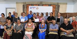 Trained industry coaches ready to engage with Tonga's business market